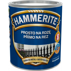 Hammerite hladký černý 2,5L