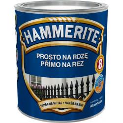 Hammerite hladký červený 0,25L